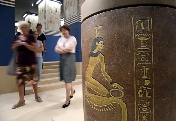 II. Amenhotep sírkamráját mutatja be a Szépművészeti Múzeum
